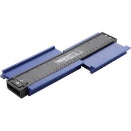Kontūrų matuoklis-šablonas-trafaretas 260mm. BGS-8025