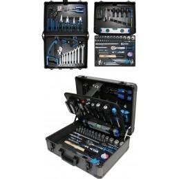 Profesionalus įrankių rinkinys 149vnt. aliumininiame lagamine BGS 15501