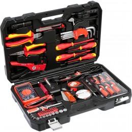 Įrankių rinkinys elektrikui 68vnt. YATO YT-39009