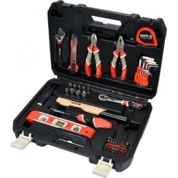 Įrankių rinkinys 60vnt. su gulščiuku YATO YT-38920