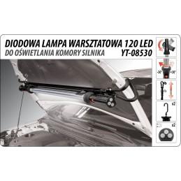 Apšvietimo lempa 12 LED, 1075x50mm. YATO YT-08530