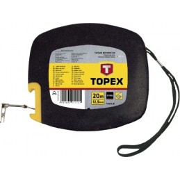 Ruletė 20m.x12,5mm. plieninė TOPEX 28C412
