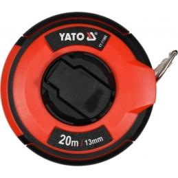 Ruletė 20m.x13mm. plieninė, II klasė YATO YT-71580
