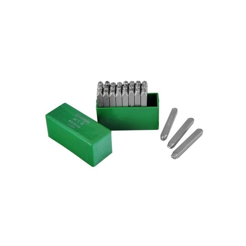Raidžių žymeklių komplektas 4mm. 26vnt. CL800104