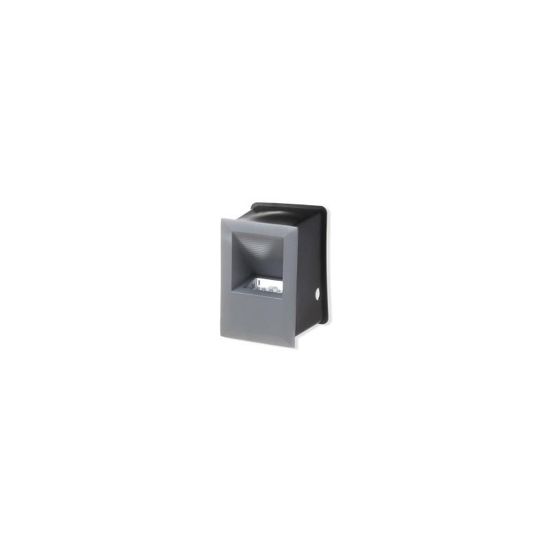 Šviestuvas sieninis lauko 9,5x9x13,8cm. 15LED
