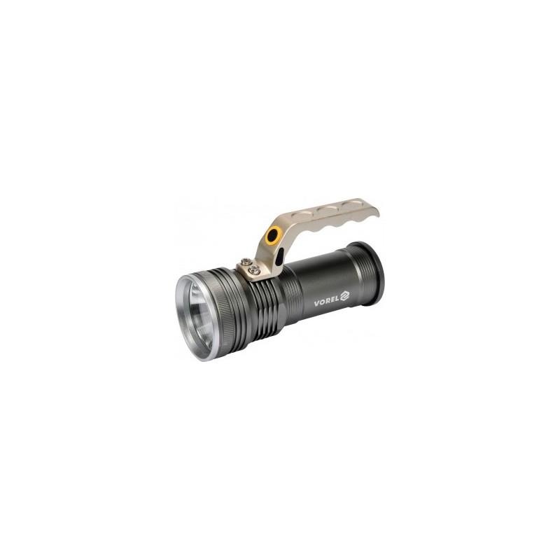 Žibintuvėlis LED 10W, 500lm. 3xAA, VOREL Y-88560