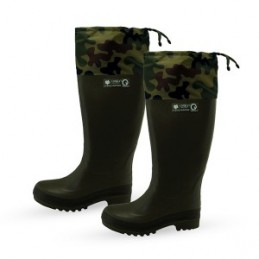 Guminiai batai 42-45 dydis, su prailginimu H53cm. šilti, medžiotojams