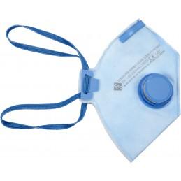 Respiratorius-kaukė su vožtuvu FFP2/NR/D VOREL Y-74555