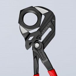 Santechninės replės-raktas 250mm. su fiksavimu KNIPEX
