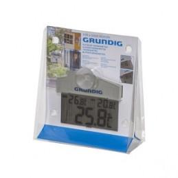Termometras lauko skaitmeninis 11x9,2x2cm. GRUNDING