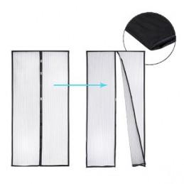 Užuolaida durims nuo vabzdžių 100X210cm. magnetinė juoda GARDEN LINE