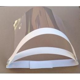 Apsauginis skydelis 23x30cm. iš PVC skaidraus plastiko
