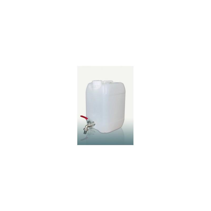 Kanistras vandeniui 10ltr. plastikinis su kranu