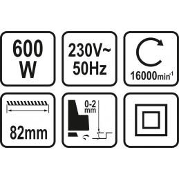 Oblius elektrinis 600 W STHOR Y-79416
