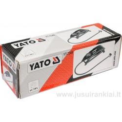 Pompa kojinė su manometru, YATO YT-7349
