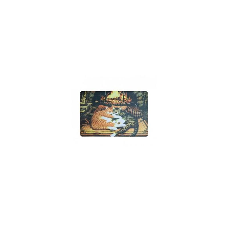 Kilimėlis durų guminis 41x61cm. CUDDLE CATS