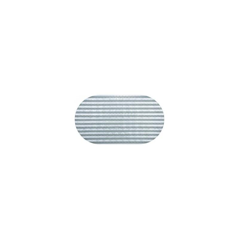 Kilimėlis voniai 69x38,5cm. neslystantis ovalus skaidrus