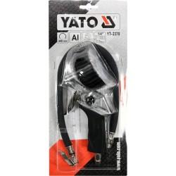 Pistoletas pripūtimui su manometru YATO YT-2370