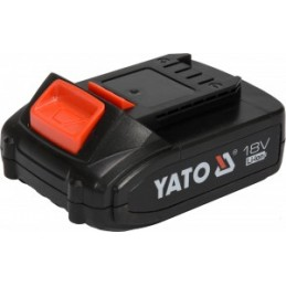 Akumuliatorius 18V, 2Ah YATO YT-82842