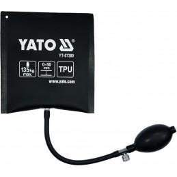 Pagalvė durų atidarymui, pripučiama YATO YT-67380