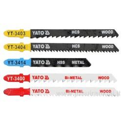 Pjūkleliai siaurapjūkliui mix YATO YT-3445