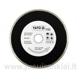 Diskas 180mm. deimantinis šlapiam pjovimui YATO 6016