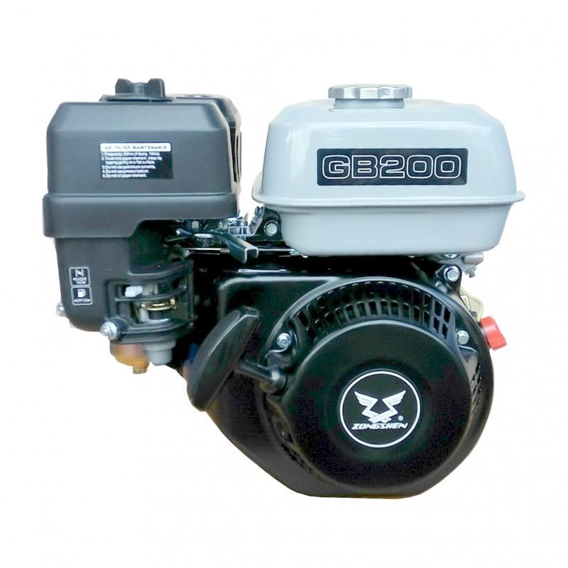 Variklis benzininis 4,4kW su el. starteriu ZONGSHEN GB200E
