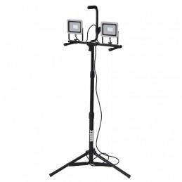 HECT 2823 šviestuvas 2x30W, LED, 6500K, 2x2200lm. su stovu