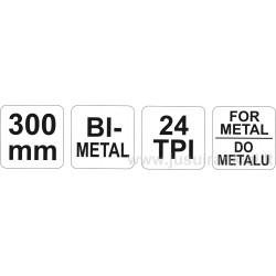 Pjūklas metalui YATO 3161