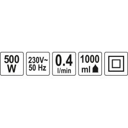 Pulverizatorius elektrinis 500W YATO YT-82550