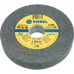 Diskas šlifavimui staliniam galąstuvui 125x12,7x15mm. smulkiagrūdis VOREL YT-08861