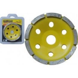 Diskas šlifavimui deimantinis plokščias 115mm. CROWNMAN