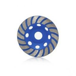 Diskas šlifavimui deimantinis plokščias 115mm. išcentrinis HR16376