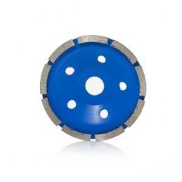 Diskas šlifavimui deimantinis plokščias 125mm. išcentrinis HR16374