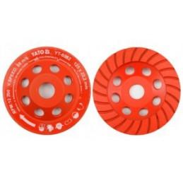Diskas šlifavimui deimantinis betonui 125mm. YATO YT-6032