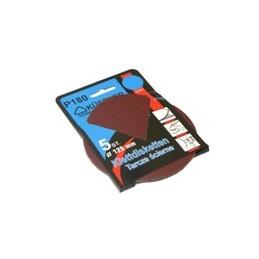 Diskas šlifavimui be skylučių 125mm. P80 5vnt. 381208