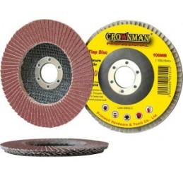 Diskelis šlifavimo lapelių 115mm. P100 CRAWNMAN 0884315