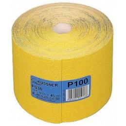 Juosta šlifavimui 115mm. 4,5m P100 PS30 geltona