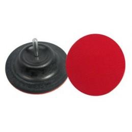 Padas šlifavimos 125mm. guminis lipnus su ašele VOREL Y-08350