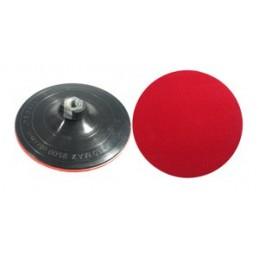 Padas šlifavimos 150mm. guminis lipnus su varžtu VOREL Y-08510