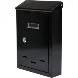 Pašto dėžutė 285x200x60 juoda VOREL Y-78540