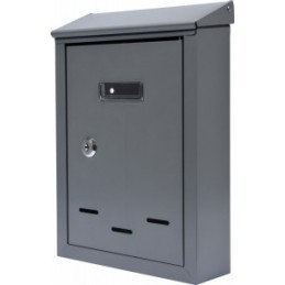 Pašto dėžutė 285x200x60 pilka VOREL Y-78541