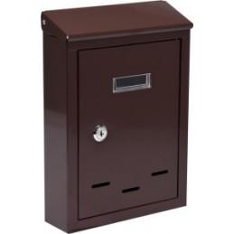 Pašto dėžutė 285x200x60 ruda VOREL Y-78542
