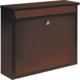 Pašto dėžutė 310x360x100 ruda VOREL Y-78577