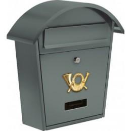 Pašto dėžutė 380x320x105 grafitinė VOREL Y-78586