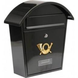 Pašto dėžutė 380x320x105 juoda VOREL Y-78585
