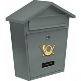 Pašto dėžutė 380x320x105 pilka VOREL Y-78581