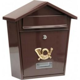Pašto dėžutė 380x320x105 ruda VOREL Y-78582