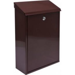 Pašto dėžutė 400x250x100 ruda VOREL Y-78572