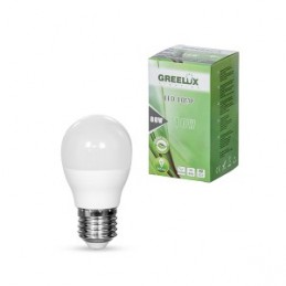 Lemputė LED A60 E27 230V 10W 806LM 3000K gelsva GREELUX